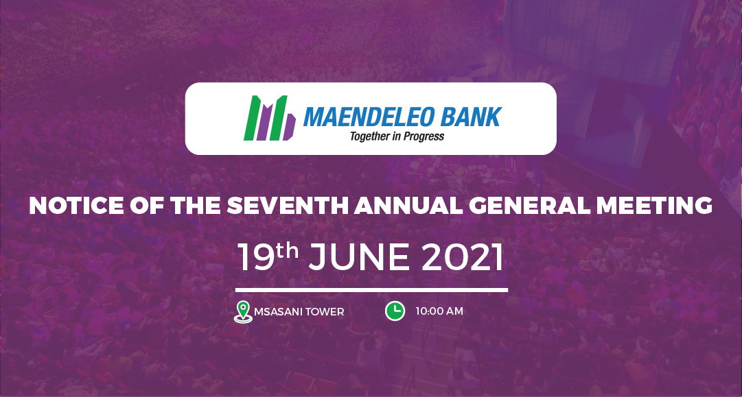 NOTICE OF THE SEVENTH ANNUAL GENERAL MEETING